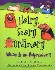 Cover of: Hairy, Scary, Ordinary