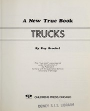 Cover of: Trucks | Ray Broekel