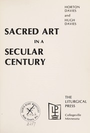 Cover of: Sacred art in a secular century