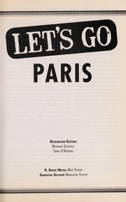 Cover of: Let's go