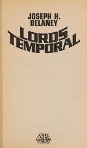 Cover of: Lords Temporal