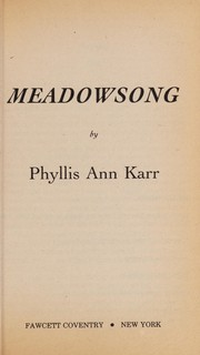 Cover of: Meadowsong | Phyllis Karr