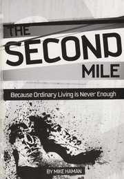 Cover of: The second mile | Mike Haman