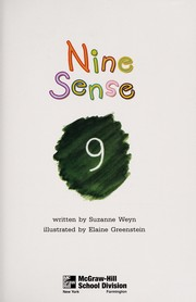 Cover of: Nine sense (McGraw-Hill reading) | Suzanne Weyn