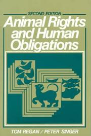 Cover of: Animal rights and human obligations