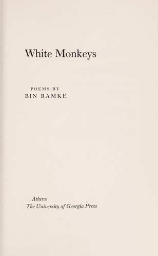 White monkeys by Bin Ramke