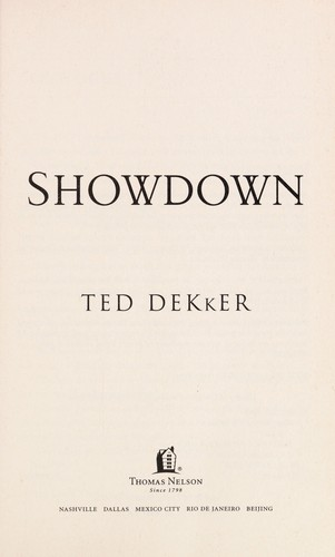 Showdown by Ted Dekker