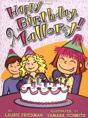 Cover of: Happy birthday, Mallory!
