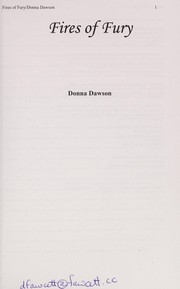 Cover of: Fires of fury | Donna Dawson