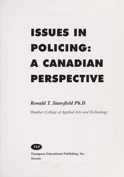 Cover of: Issues in policing | Ronald T. Stansfield