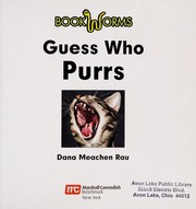 Cover of: Guess who purrs: Ronronea