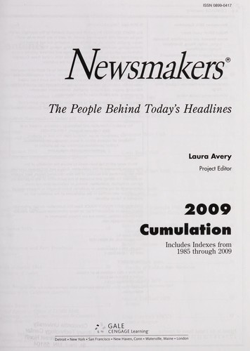 Newsmakers by Laura Avery