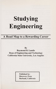 Cover of: Studying engineering | Raymond B. Landis