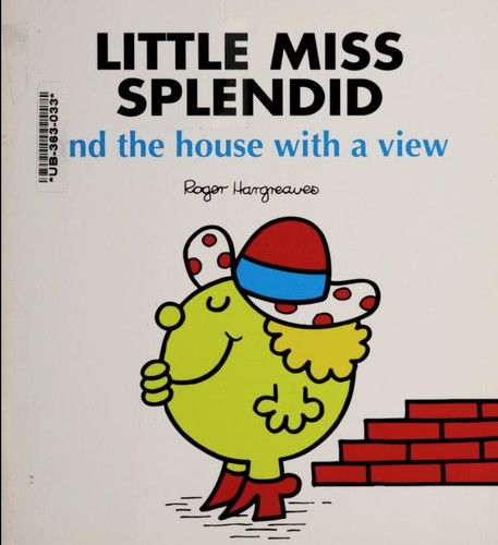 Little Miss Splendid and The House With a View by Adam Hargreaves