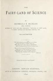 Cover of: The fairy-land of science | Arabella B. Buckley