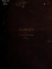 Cover of: The Tragedie of Hamlet, Prince of Denmarke | William Shakespeare
