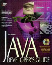 Cover of: JAVA developer's guide