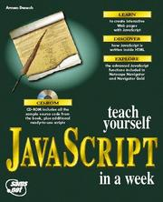 Cover of: Teach yourself JavaScript in a week