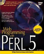 Cover of: Web programming with Perl5