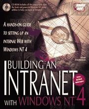 Cover of: Building an Intranet with Windows NT 4