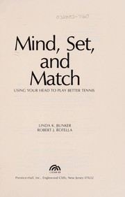 Cover of: Mind, set, and match