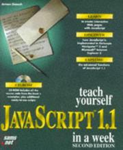 Cover of: Teach yourself JavaScript 1.1 in a week