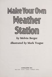 Cover of: Make Your Own Weather Station |