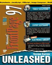 Microsoft FrontPage unleashed by William R. Stanek