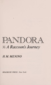 Cover of: Pandora, a raccoon's journey