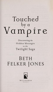 Cover of: Touched by a vampire