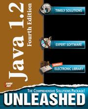 Cover of: Java 1.2 unleashed