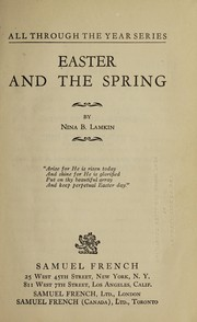 Cover of: ... Easter and the spring