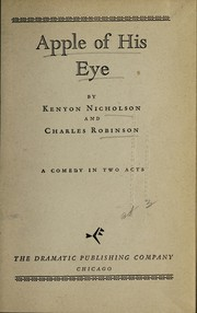 Cover of: Apple of his eye | Kenyon Nicholson
