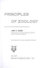 Cover of: Principles of zoology