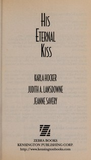Cover of: His eternal kiss