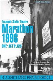 Cover of: Ensemble Studio Theatre Marathon 1996 The One-Act Plays