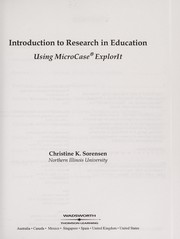 Cover of: Introduction to research in education