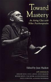 Cover of: Toward mastery