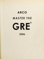 Cover of: Master the GRE 2006