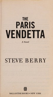 Cover of: The Paris vendetta