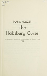 Cover of: The Habsburg curse | Hans Holzer