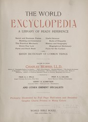 Cover of: The world encyclopedia