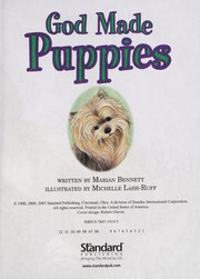 Cover of: God made puppies | Marian Bennett