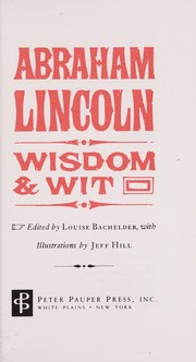 Cover of: wit and wisdom by benjamin franklin