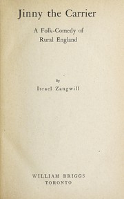 Cover of: Jinny the carrier | Israel Zangwill