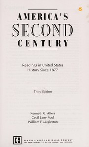 Cover of: America's second century