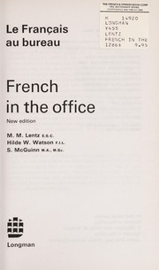 Cover of: French in the office =