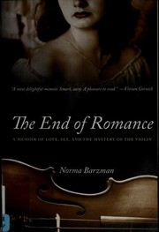 Cover of: The End of Romance | Norma Barzman