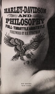 Cover of: Harley-Davidson and philosophy