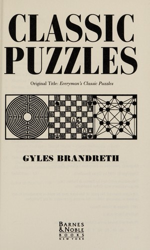 Classic Puzzles by
